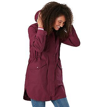 جولز المرأة لوكسلي للماء سترة معطف الخيوط الطويلة