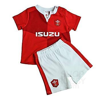 Wales RU Shirt & Short Set 6/9 mths QT