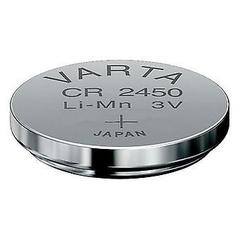 Lithium Button Cell Battery Varta 06450 101 401 3 V CR2450 560 mAh