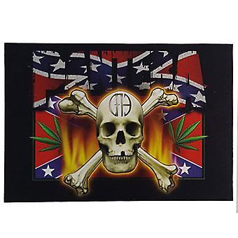 Pantera - CFH Skull & Flag Postcard