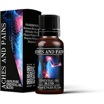 Mystic Moments Aches and Pains Essential Oil Blends 10ml