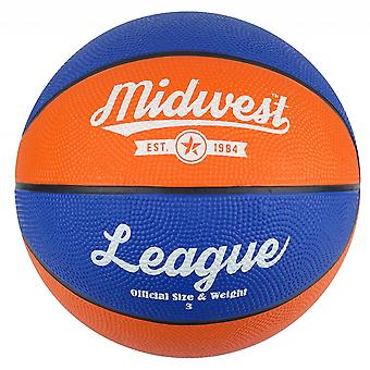 Midwest League Basket Blå/Orange Storlek 3