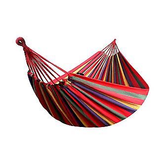 أرجوحة المحمولة شخص واحد في الهواء الطلق حديقة الرياضة المنزل السفر التخييم سوينغ شريط قماش شنق أرجوحة السرير