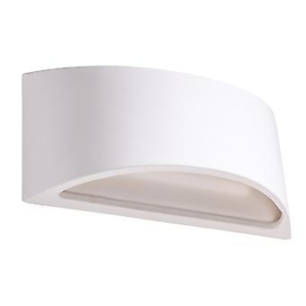 Sollux VIXEN SL.0834 Up & Down Lampada da parete in gesso Bianco G9