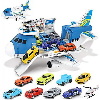 9 In 1 Transport Cargo Airplane Toys
