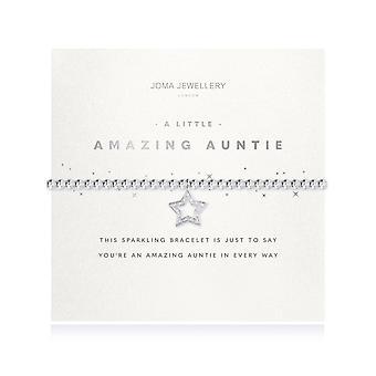 Joma smykker lidt fantastisk tante facetteret armbånd 4694