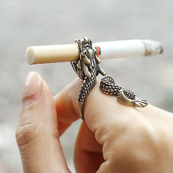 Retro Punk Dragon Sigarettenhouder