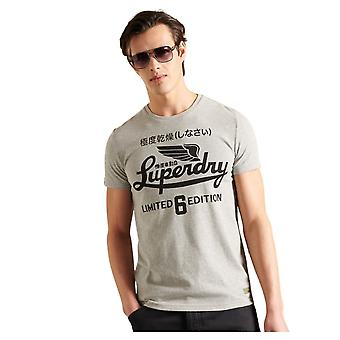Superdry Military Graphic LW Tee Gris