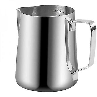Milk Frother Jug For Foam Making For Coffee