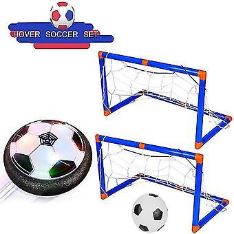 Air Power drijvende voetbal speelgoed kit voetbal disc zweven voetbal spel licht speelgoed knipperende bal speelgoed