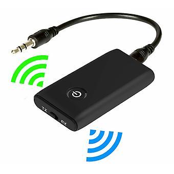 Bluetooth-zenders 2 in 1 draadloze Bluetooth 5.0 zender en ontvanger