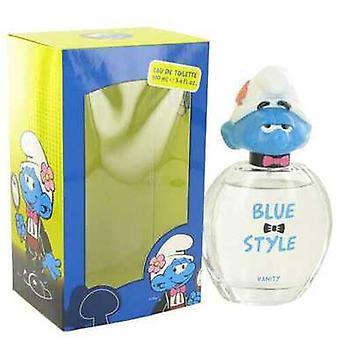 The Smurfs By Smurfs Blue Style Vanity Eau De Toilette Spray 3.4 Oz (men)