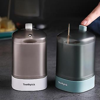 Automatically Pops Up Toothpick Dispenser Home Living Room Dining Room Toothpick Storage Box For Toothpicks Home Creative