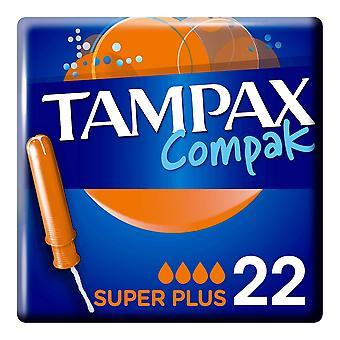 Super Plus Tampon Compak Tampax (22 uds)