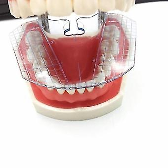 מעבדה שיניים מדריך צלחת שיניים -סידור על עבודה שיניים תותבות