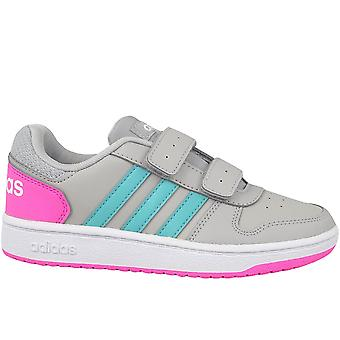 Adidas Hoops 20 Cmf C H01550 univerzálne celoročne detské topánky