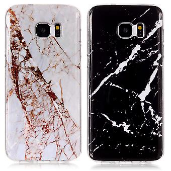 Samsung Galaxy S7 - Shell / Schutz / Marmor