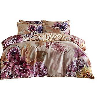 Paoletti Saffa Floral Duvet Cover Set