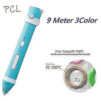 طابعات ثلاثية الأبعاد قلم ثلاثي الأبعاد diy قلم طابعة ثلاثي الأبعاد يرسم أقلام طباعة ثلاثية الأبعاد أفضل للأطفال الذين يعانون من خيوط pcl 1.75Mm عيد الميلاد