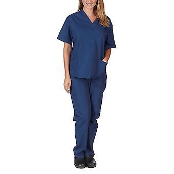 Two-piece Spa Slim Lab Clinic Nurse Pharmacy Work Uniform