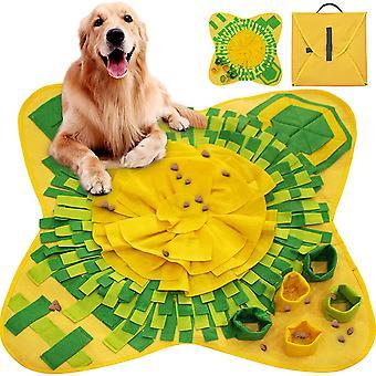 Hundeschnupfmatte, faltbare maschinenwaschbare Hundetrainingsmatte