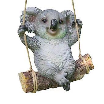 Hage Gårdsplass Dekorasjon Simulering Koala Harpiks Dyr Skulptur Hage Dekorasjon Håndverk Dekorasjon