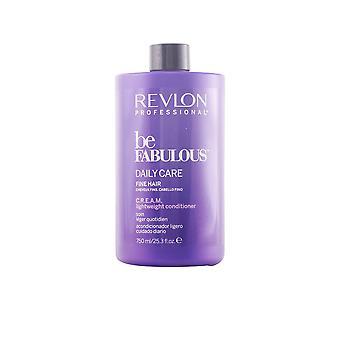 Revlon ser fabuloso diario cuidado pelo fino acondicionador crema 250 Ml Unisex