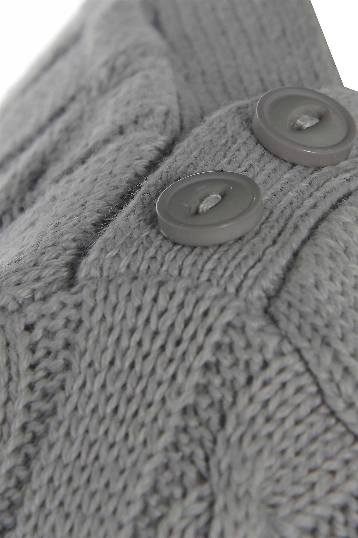 Three Quarter Grey Knitted Jumper UK SIZE 16