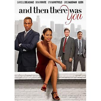 And Then There Was You [DVD] USA import