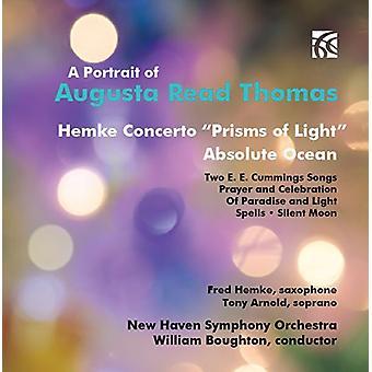 Thomas/Hemke/New Haven Sym Orch/Boughton - porträtt av Augusta Läs Thomas [CD] USA import