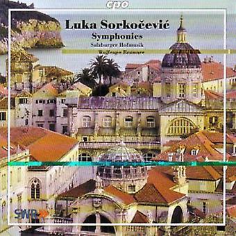 L. Sorkocevic - Luka Sorkocevic: Symphonies [CD] USA import