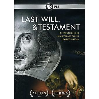 最後の意志。・新約聖書 【 DVD 】 USA 輸入