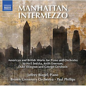Biegel, Jeffrey / Brown University Orchestra - Manhattan Intermezzo [CD] USA Import