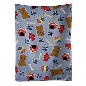 Собака дом коллекции Глен Imal Тан кухонное полотенце
