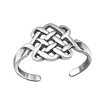 Basket - 925 Sterling Silver Toe Rings - W29404x