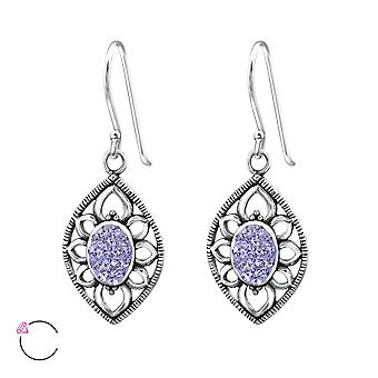 Marquise Crystal From Swarovski® - 925 Sterling Silver Earrings - W34638x