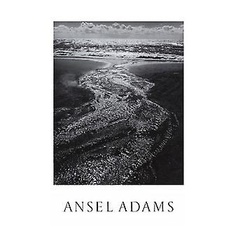 אנסל אדמס זרם ענני ים רודיאו לגונה מארין פוסטר להדפיס על ידי אנסל אדמס (25 x 36)