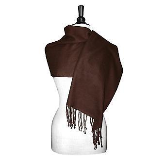 Biagio 100% ull Pashmina solid scarf kvinnors sjal wrap