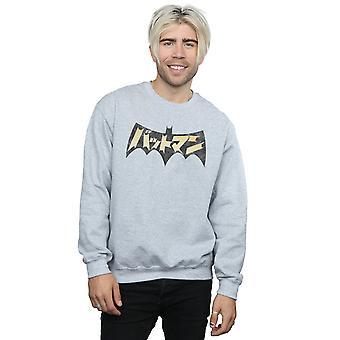 DC Comics Men's Batman International Logo Sweatshirt