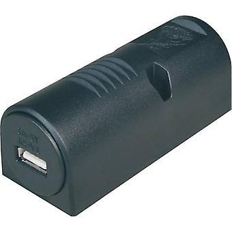 ProCar monterte makt USB socket 3 A maks. lastekapasitet = 3 kompatible A med (detaljer) USB-A