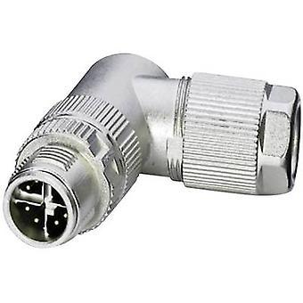 Phoenix Contact 1417443 VS-08-M12MR-10G-P SCO Ethernet Plug, rechte hoek zilver
