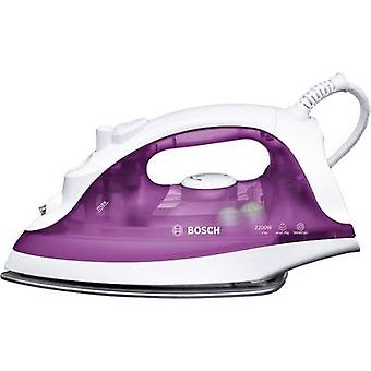 Bosch Haushalt TDA2329 Steam iron White, Violet (transparent) 2200 W