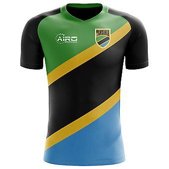 2020-2021 Tanzania Home Concept Voetbalshirt