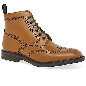 Loake Burford Dainite Mens Formal encaje hasta botas