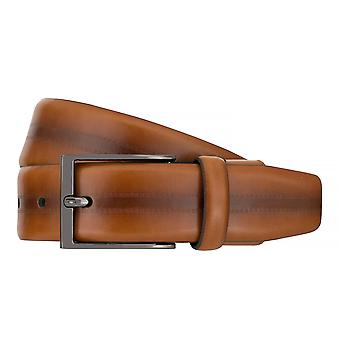 Strellson belts men's belts leather belt Flexbelt Cognac 7562