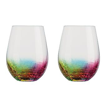 Artland Neon Set of 2 Tumblers