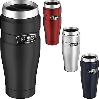 Thermos 16 oz. Stainless King Vid izolate din oțel inoxidabil Travel Mug