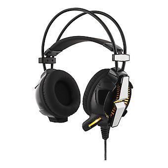 Στερεοφωνικά ακουστικά παιχνιδιών, φωτισμός LED