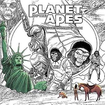 Planet of the Apes Adult Coloring Book by Pierre Boulle - 97816841518