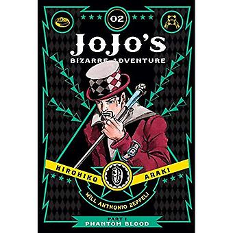 JOJOS ADV BIZARRE PHANTOM BLOOD HC VOL 02 (Bizarre Adventure de Jojo's : partie 1--Phanto)